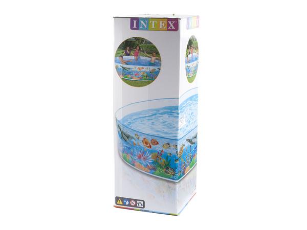 БАССЕЙН КАРКАСНЫЙ пластмассовый детский 244*46 см (арт. 58472)