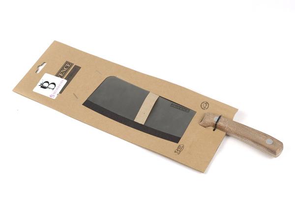 НОЖ-СЕКАЧ металлический с деревянной ручкой 30/17,5 см (арт. 261443)