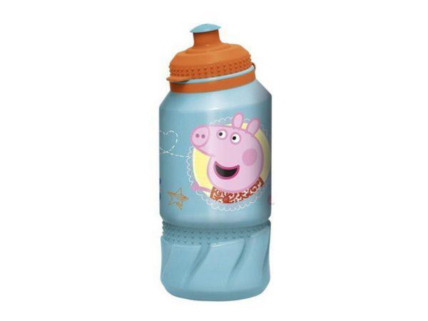 """БУТЫЛКА пластмассовая для питья детская """"Свинка Пэппа"""" 420 мл (арт. 12601505, код 411513)"""