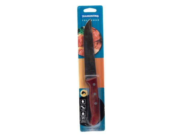 """НОЖ металлический для мяса """"Polywood"""" с деревянной ручкой 27,5/15,3 см (арт. 21127176)"""