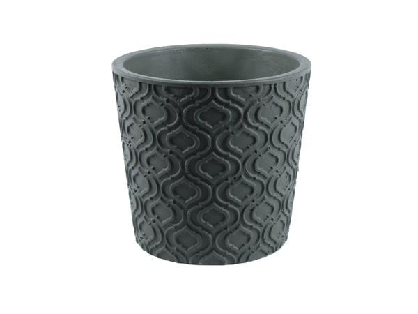 КАШПО ДЛЯ ЦВЕТОВ цементное 13,5*13,5*12,8 см (арт. CC15485B, код 163373)