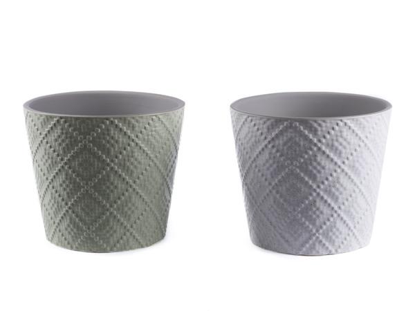 КАШПО ДЛЯ ЦВЕТОВ керамическое 16,8*16,8*14,7 см (арт. CD16263A, код 163366)