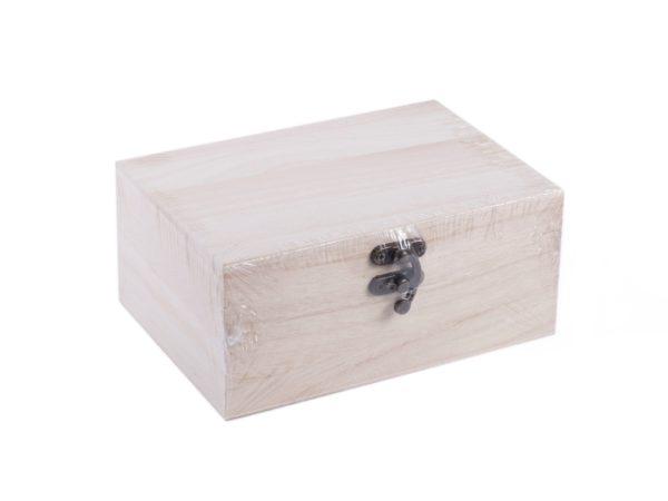 ШКАТУЛКА ДЛЯ РОСПИСИ деревянная 17*12*7,5 см (арт. 24741718, код 020638)