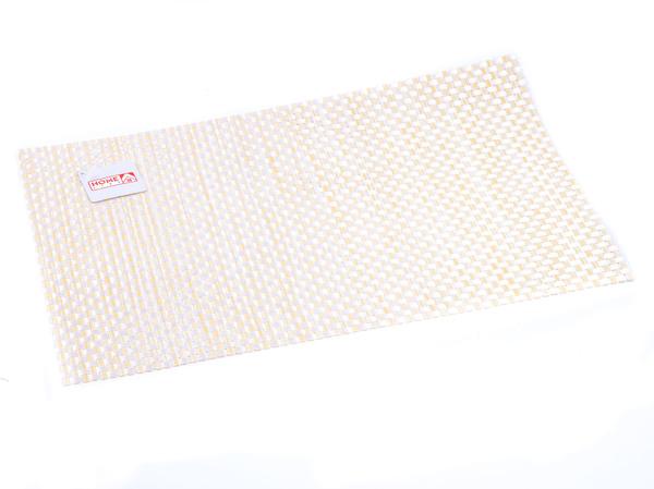 ПОДСТАВКА СЕРВИРОВОЧНАЯ пластмассовая плетеная 30*45 см (арт. PM88003, код 163083)
