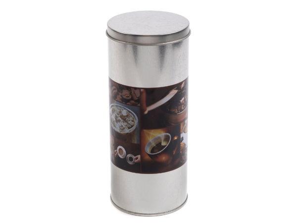 БАНКА ДЛЯ СЫПУЧИХ ПРОДУКТОВ металлическая 7,6*17,8 см (арт. 24CF1002, код 218525)
