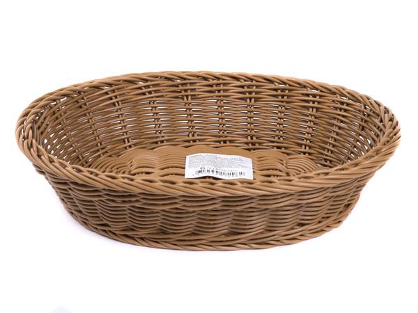 ЛОТОК пластмассовый плетеный 27*23*6 см (арт. DR4024, код 172962)