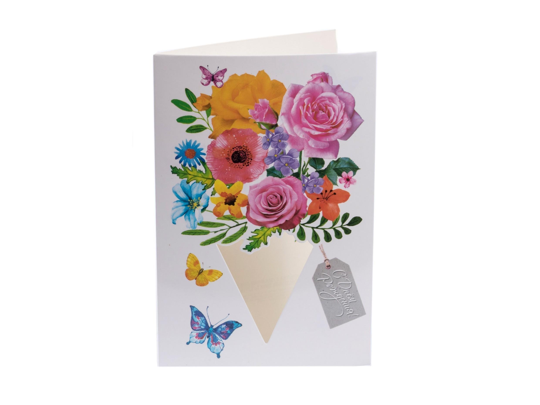 Музыкальная открытка бумажная с днем рождения, для него