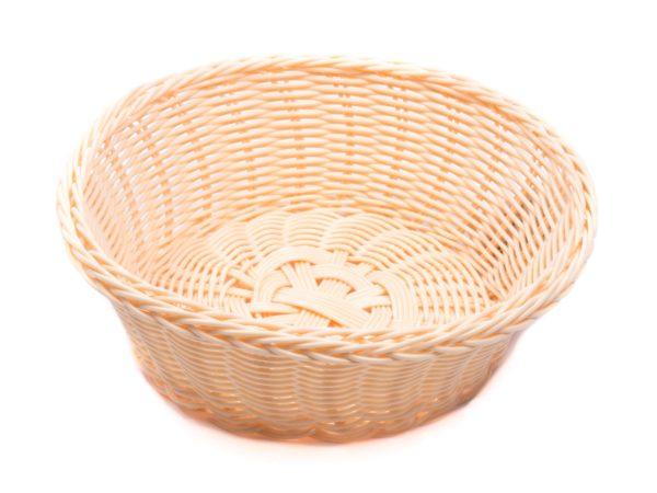 КОРЗИНА пластмассовая плетеная 22*8 см (арт. DR12027, код 183173)