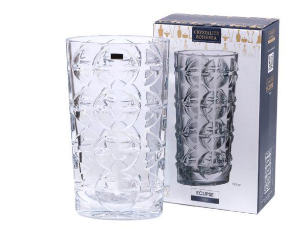 "ВАЗА стеклянная ""ECLIPSE"" 32,5 см (арт. 9K7/8KH17/0/99W29/325-162)"