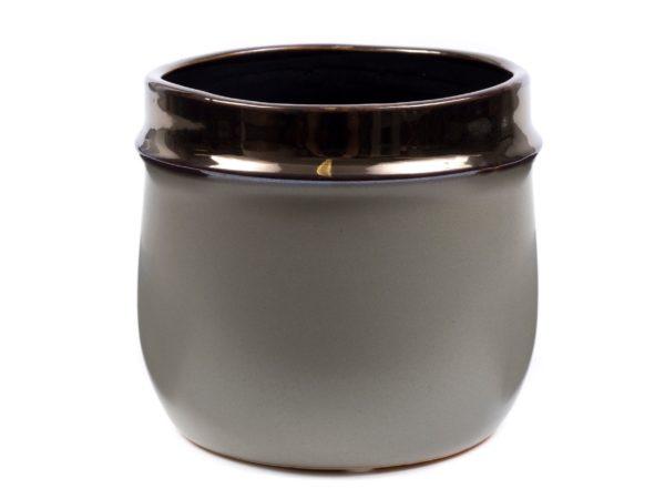 КАШПО ДЛЯ ЦВЕТОВ керамическое 17,5*17,5*15,5 см (арт. CD18049AZ80, код 181490)