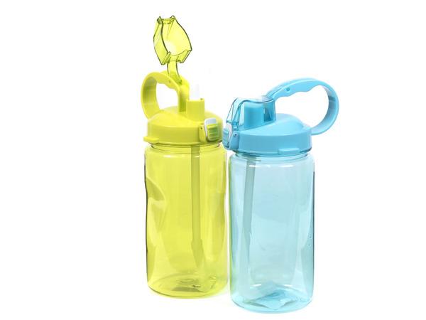 БУТЫЛКА пластмассовая для питья с соломинкой 1,3 л (арт. 1551, код 184781)