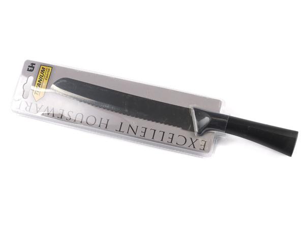 НОЖ металлический с пластмассовой ручкой 20/32,5 см (код 244703)