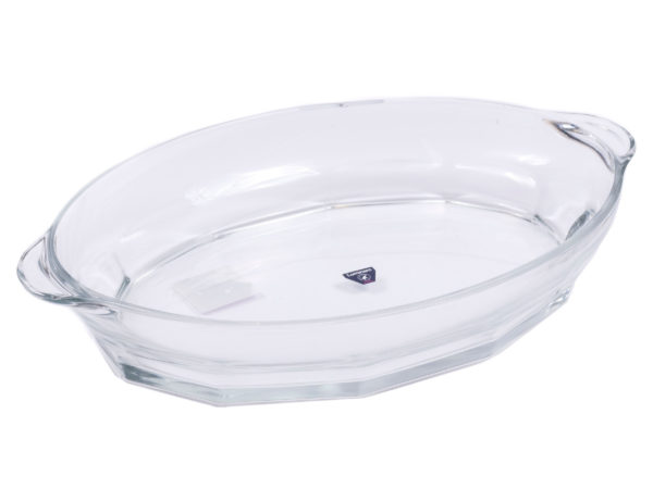 "БЛЮДО стеклянное ""Granity"" 39*25 см/3,2 л (арт. P7672, код 201150)"
