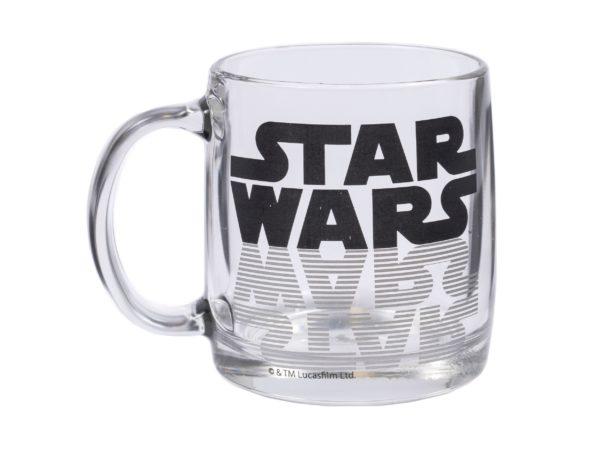 """КРУЖКА стеклянная """"Star Wars Logo"""" 380 мл (арт. H8502ДЗSWLogo, код 037865)"""