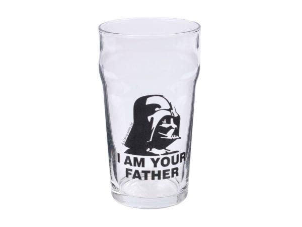 """БОКАЛ ДЛЯ ПИВА стеклянный """"Star Wars Darth Vader"""" 570 мл (арт. 18с2036ДЗStarWars, код 037889)"""