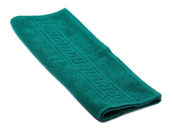 ПОЛОТЕНЦЕ текстильное махровое 40*70 см 380 г/м2 (арт. ВТ40-70Г-507-Темно-зеленый, код 800498)