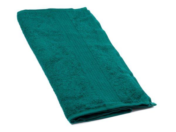 ПОЛОТЕНЦЕ текстильное махровое 40*70 см 470 г/м2 (арт. 40-70BS-507-Темно-зеленый, код 801648)