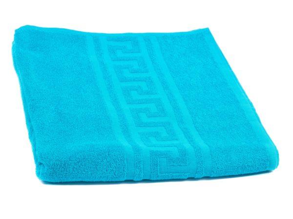 ПОЛОТЕНЦЕ текстильное махровое 70*140 см 380 г/м2 (арт. ВТ70-140Г-720-Бирюза, код 801099)
