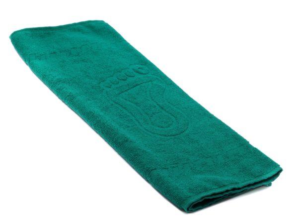 "ПОЛОТЕНЦЕ текстильное махровое ""Ножки"" 50*70 см 450 гр/м2 (арт. S50-70BS-507-Темно-зеленый, код 802508)"