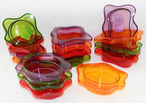 САЛАТНИК пластмассовый 15*11 см в ассортиметне (арт. 161435-000)
