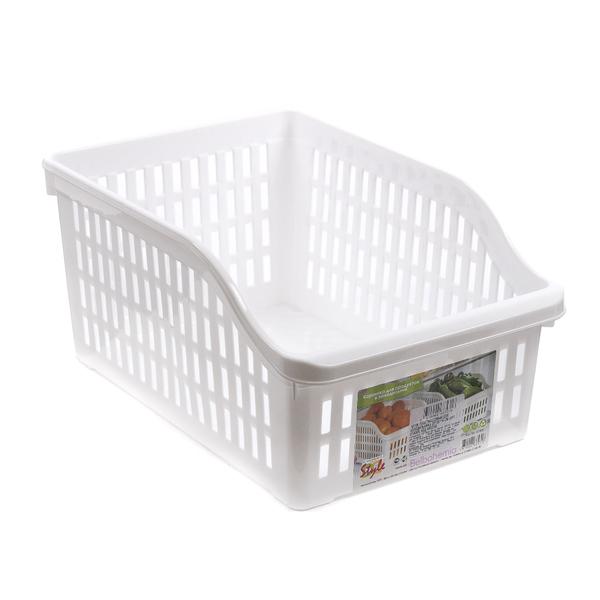 ЛОТОК пластмассовый для холодильника 20*30*14 см (арт. 07400R, код 217250)