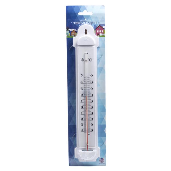 ТЕРМОМЕТР НАРУЖНЫЙ в пластмассовом корпусе от -40°C до + 50°C (арт. 300173, код 680011)