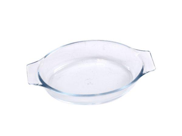 БЛЮДО стеклянное овальное 23,6*12,5*5,3 см/700 мл (арт. LHP-TO-0.7L, код 211753)