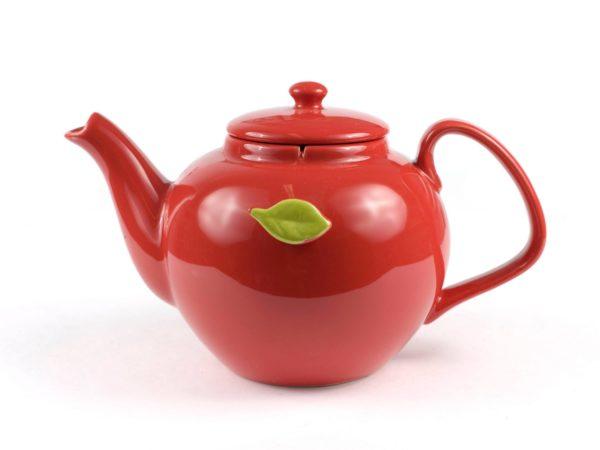 ЧАЙНИК керамический с держателем для чайного пакетика 1100 мл (арт. SFYT064L-R, код 180864)
