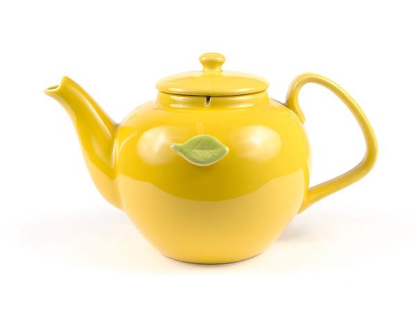 ЧАЙНИК керамический с держателем для чайного пакетика 1100 мл (арт. SFYT064L-Y, код 180857)