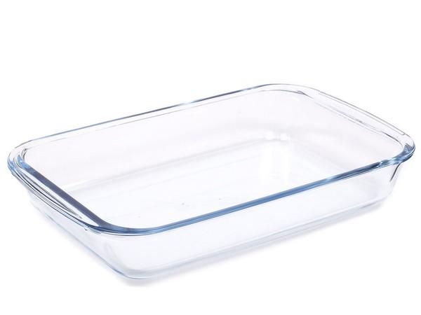 БЛЮДО стеклянное прямоугольное 29,5*17,6*5,1 см/1,6 л (арт. LHP-FD-1.6, код 223107)