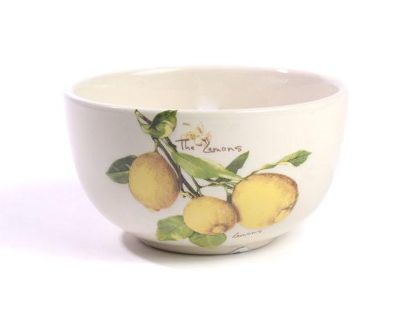 """САЛАТНИК керамический """"Lemon"""" 12*6 см (арт. 60ZF1197LM, код 333846)"""