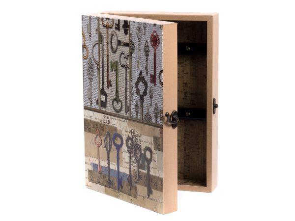 ЯЩИК ДЛЯ КЛЮЧЕЙ деревянный настенный 30,5*21,5*7,5 см (арт. 7790174, код 002639)