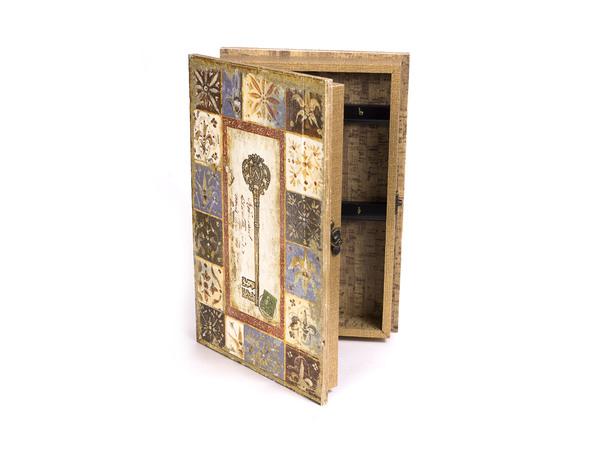 ЯЩИК ДЛЯ КЛЮЧЕЙ деревянный настенный 33*21*8,2 см (арт. 7790125, код 999831)
