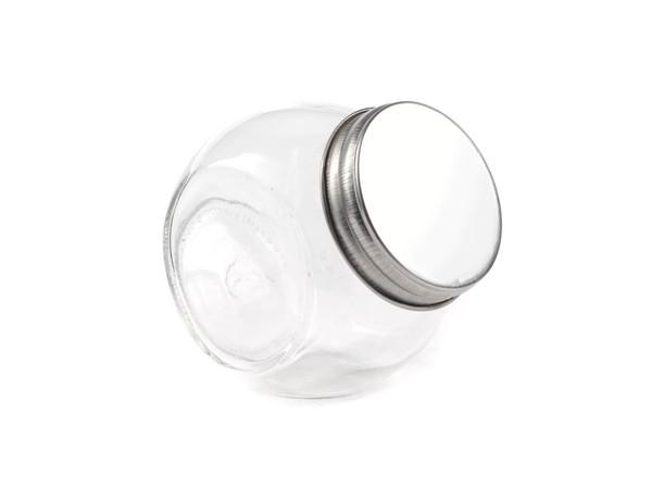 БАНКА ДЛЯ СЫПУЧИХ ПРОДУКТОВ стеклянная с металлической крышкой 700 мл (арт. 50070-5, код 103447)