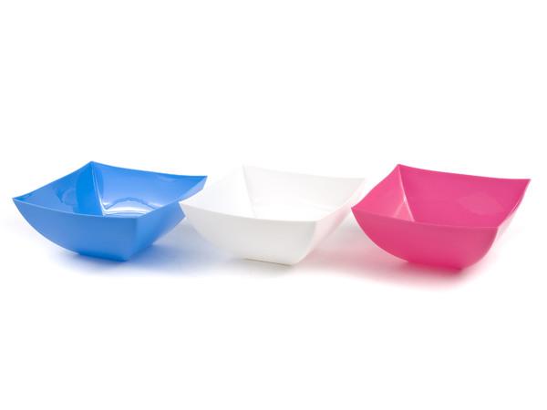 САЛАТНИК пластмассовый 600 мл/14,3*14,3*6,3 см (арт. 10381, код 101290)